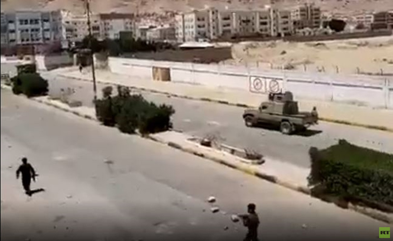 عناصر من قوات الأمن في محافظة شبوة اليمنية