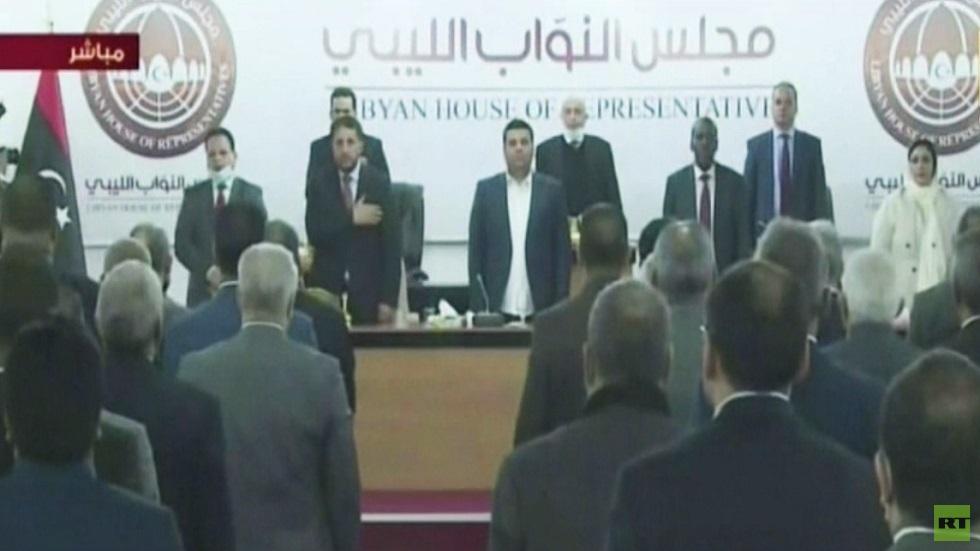 ليبيا.. حكومة الدبيبة تؤدي اليمين الدستورية