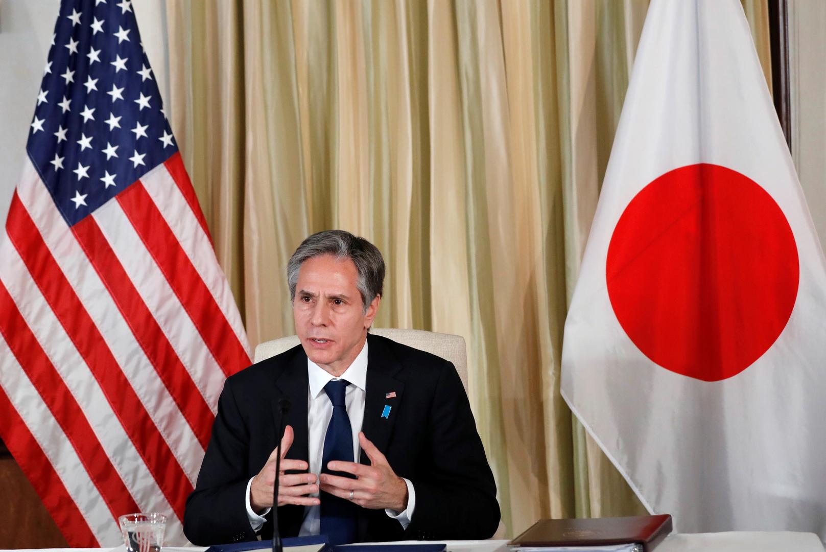 بلينكن: نعمل مع حلفائنا على نزع السلاح النووي لكوريا الشمالية