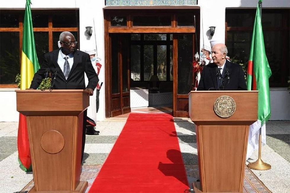 الرئيس الجزائري عبد المجيد تبون ورئيس مالي باه نداو