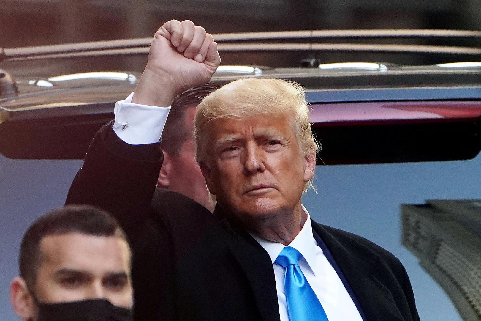 ترامب سيتخذ قراره النهائي حول ترشحه لولاية ثانية بعد انتخابات التجديد النصفي