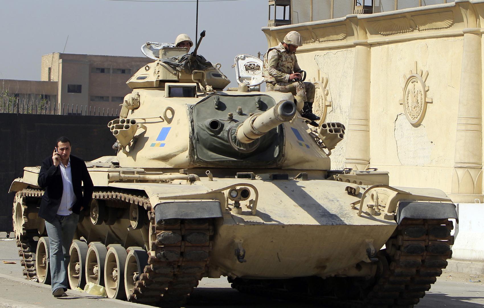 جبابة تابعة للجيش المصري
