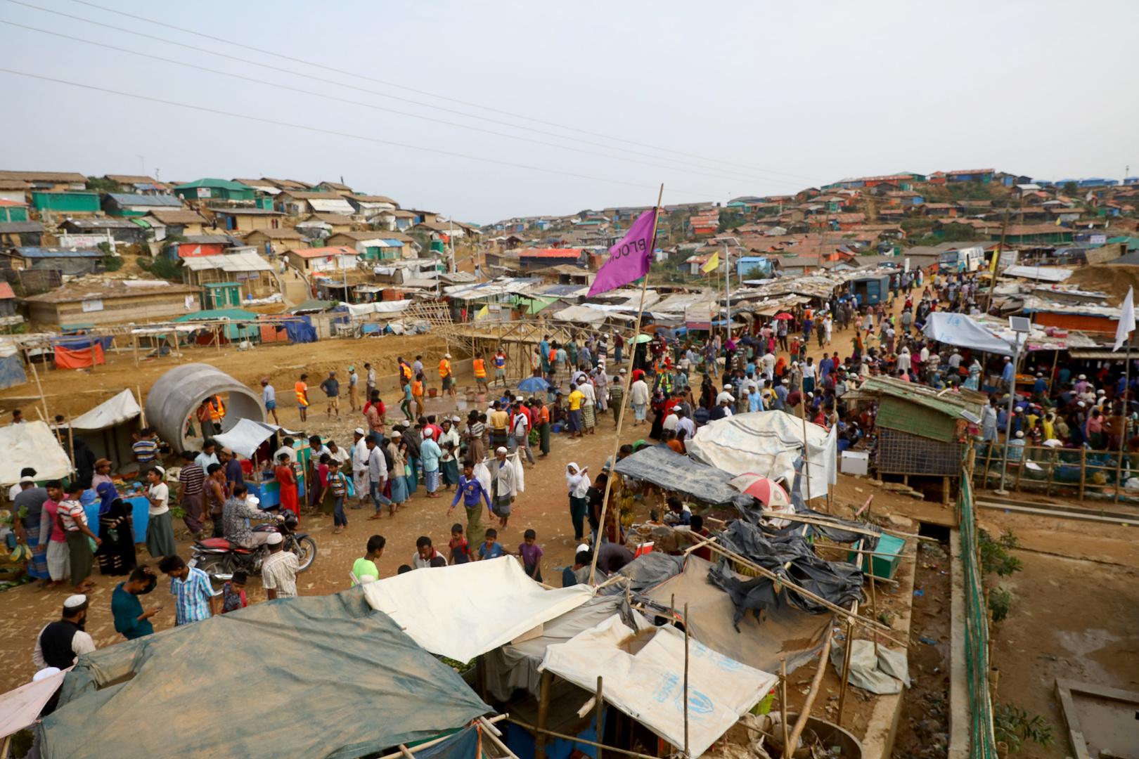الأمم المتحدة تزور لأول مرة جزيرة نائية في بنغلاديش أصبحت مأوى للروهينغا