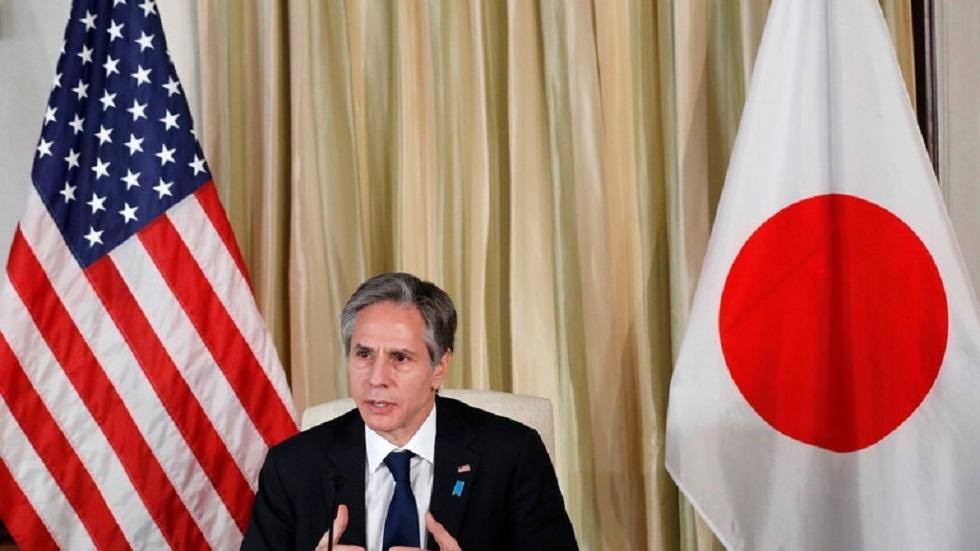وزير الخارجية الأمريكي أنتوني بلينكن في اليابان