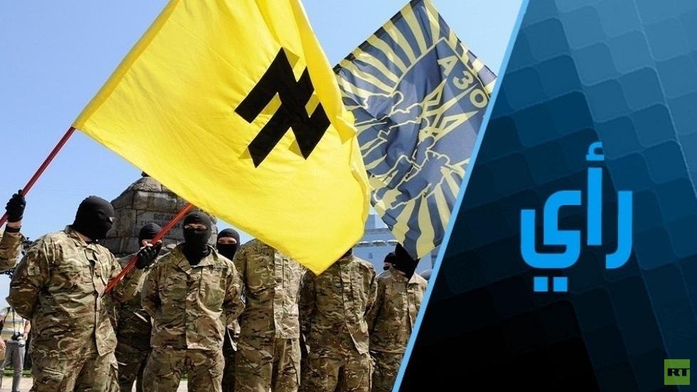 الرئيس اليهودي لأوكرانيا النازية يستثير حرباً مع روسيا