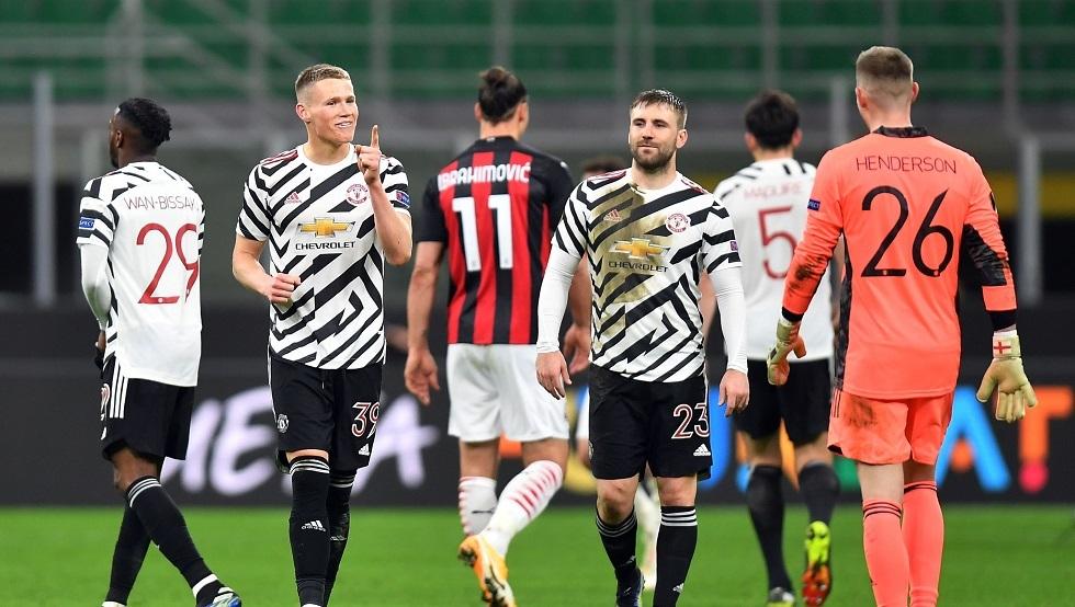 بالفيديو.. ميلان يودع الدوري الأوروبي على يد