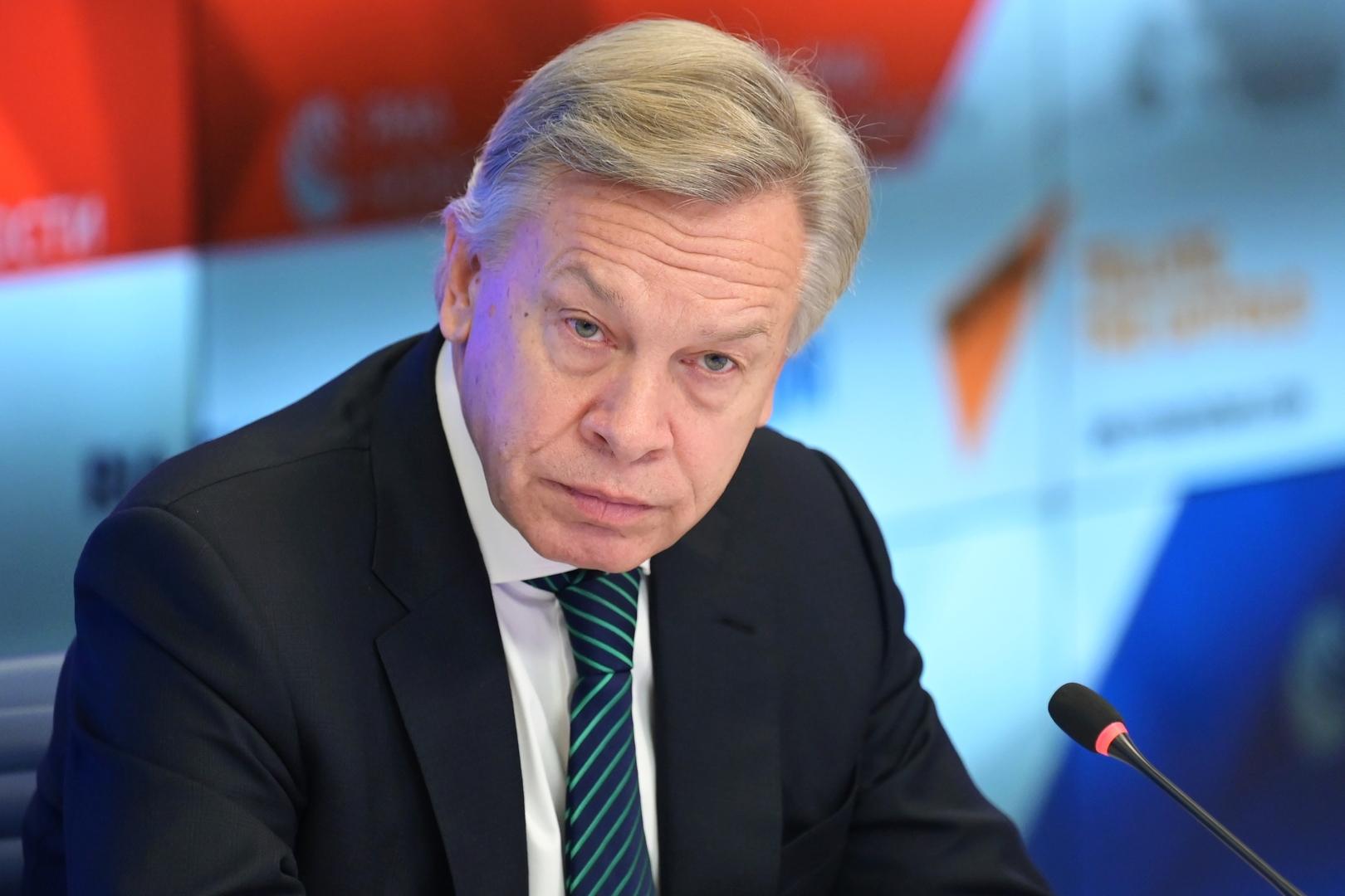 السيناتور الروسي ألكسي بوشكوف