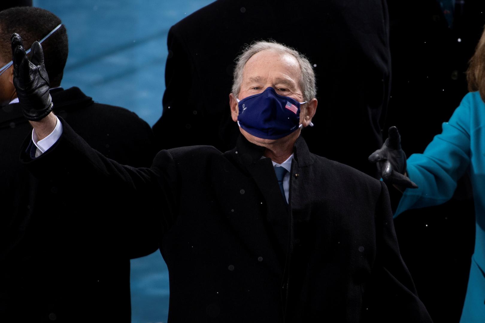 بوش: حادثة اقتحام الكابيتول أثارت اشمئزازي