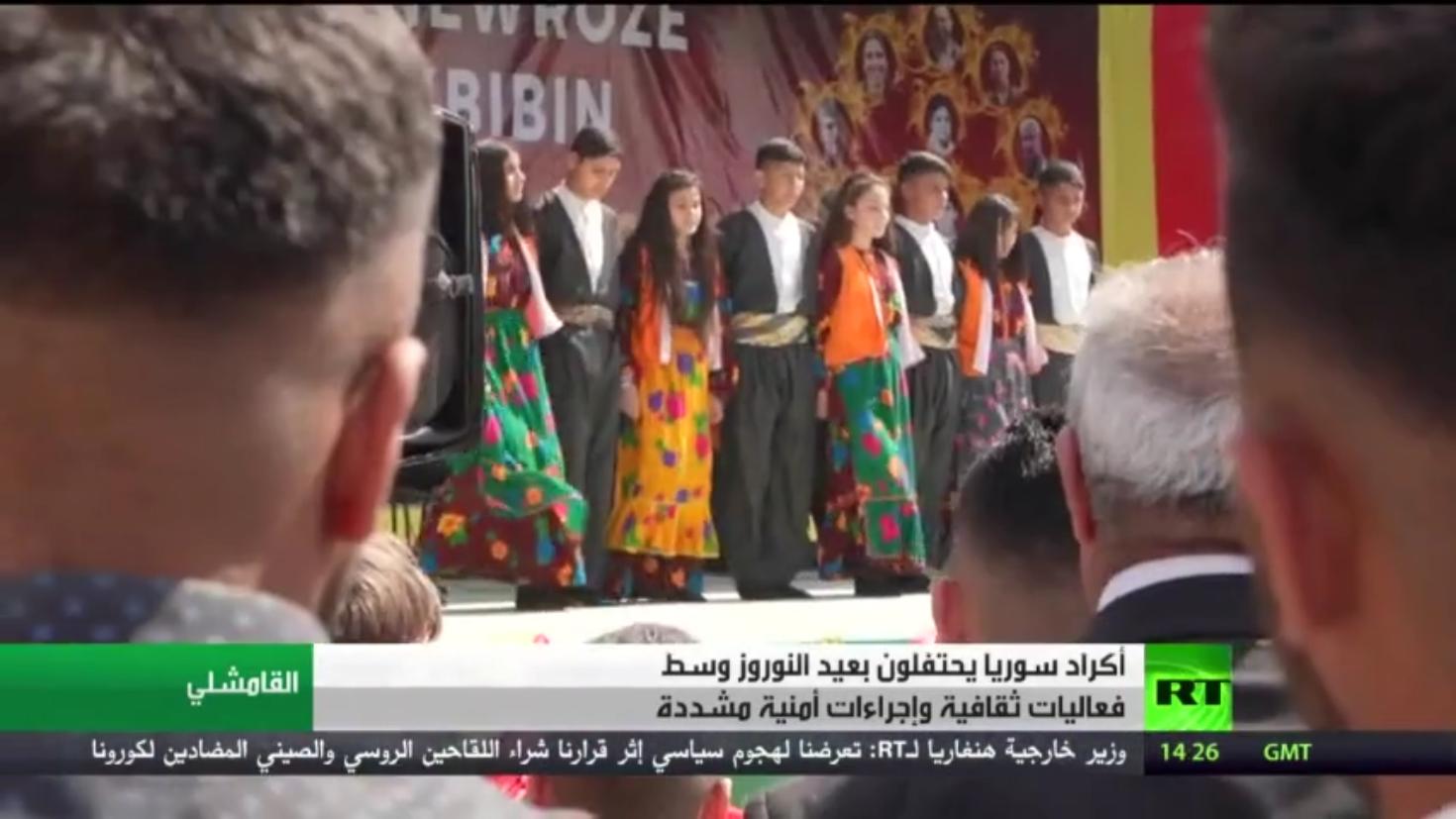 أكراد سوريا يحتفلون بعيد النوروز