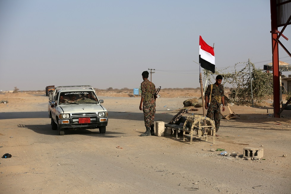 قوات حكومية يمنية