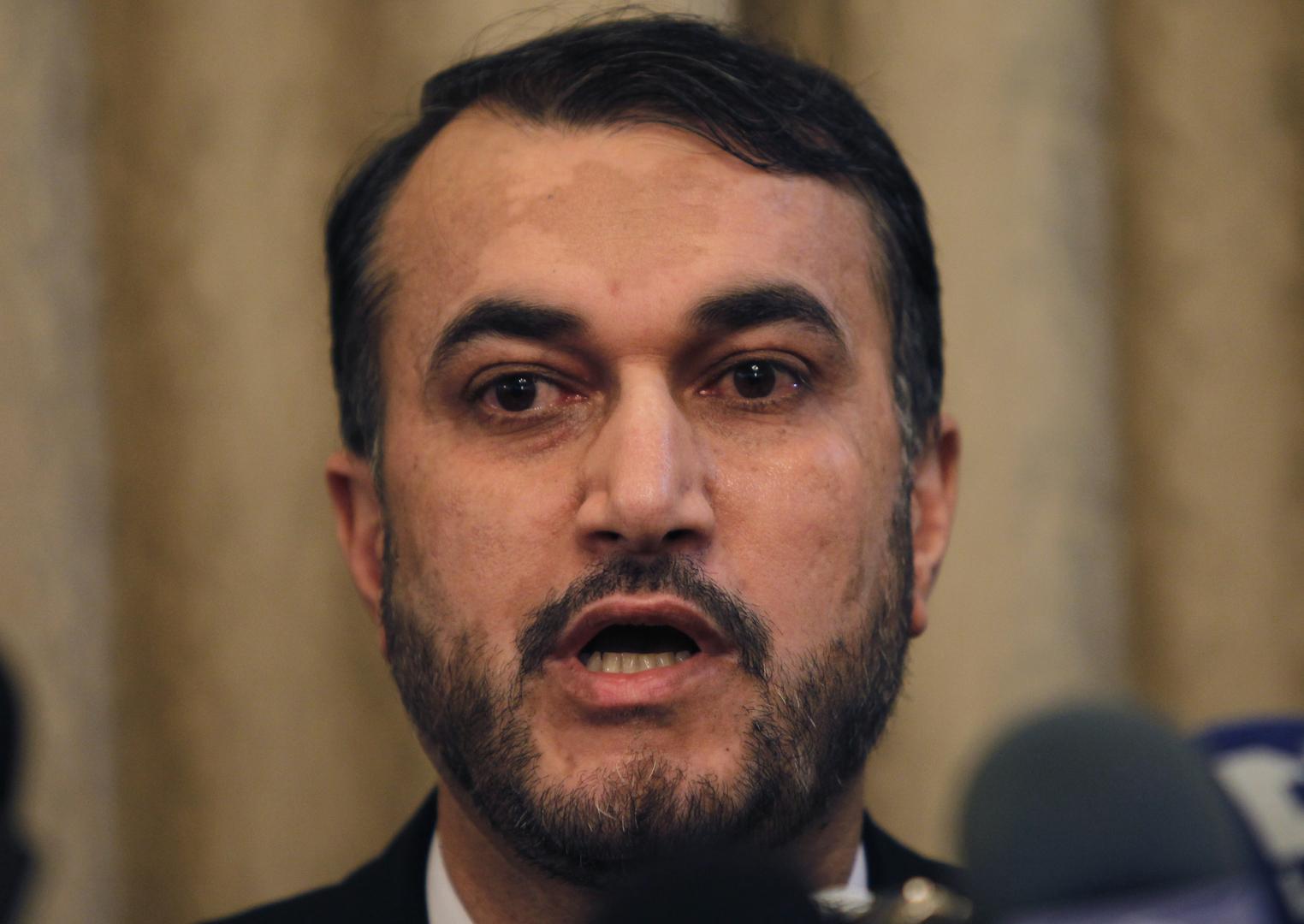 مساعد رئيس البلمان الإيراني حسين أمير عبداللهيان