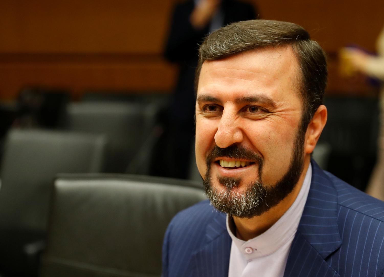 مندوب إيران لدى الوكالة الدولية للطاقة الذرية طاظم غريب آبادي