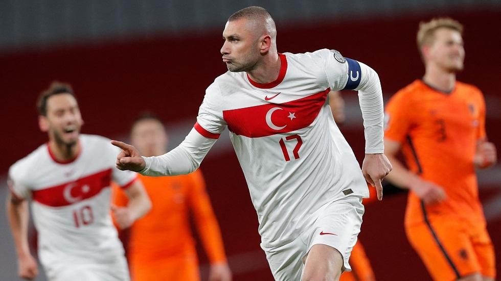 تركيا تصعق هولندا برباعية في بداية التصفيات الأوروبية المؤهلة لمونديال قطر 2022 (فيديو)