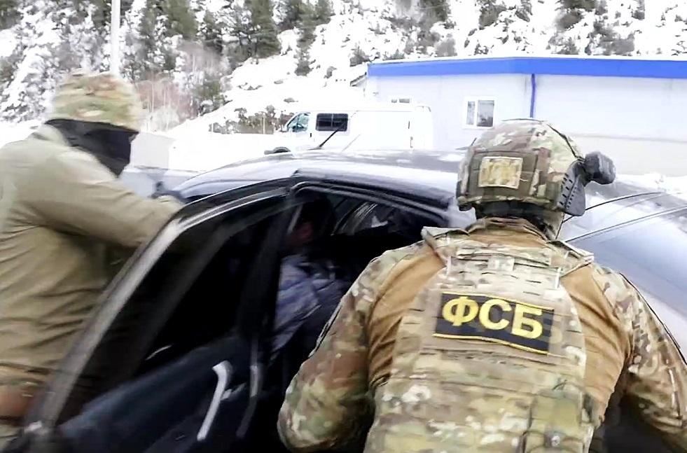 اعتقال أحد عناصر عصابة باساييف الإرهابية في موسكو