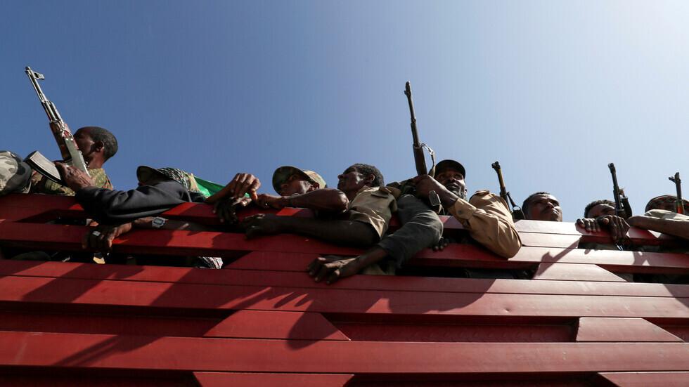 مسلحون في إقليم تغراي، صورة تعبيرية من الأرشيف