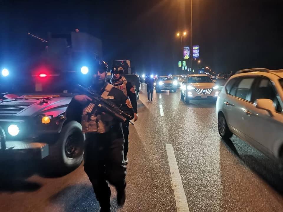 العراق.. انتشار أمني مكثف في بغداد بعد استعراض