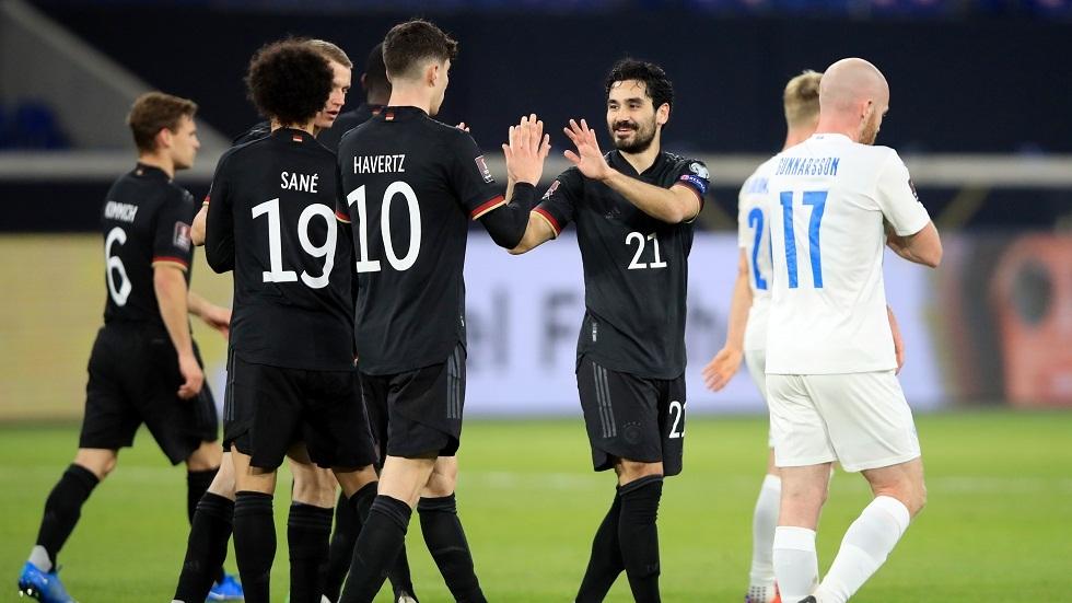 ألمانيا تقسو على آيسلندا بثلاثية نظيفة في تصفيات مونديال قطر (فيديو)