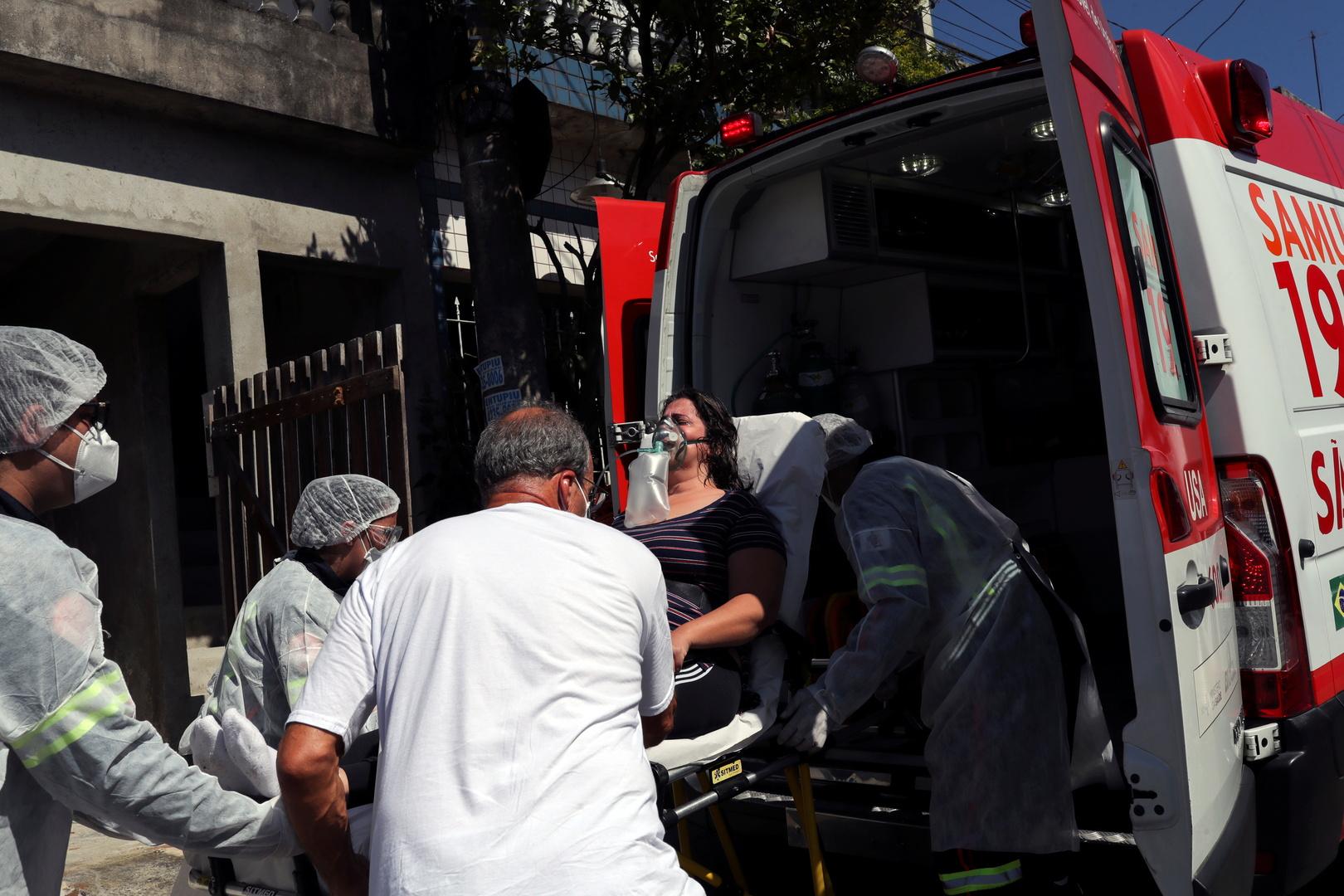 في حصيلة قياسية جديدة.. البرازيل تسجل أكثر من 100 ألف إصابة بكورونا خلال يوم
