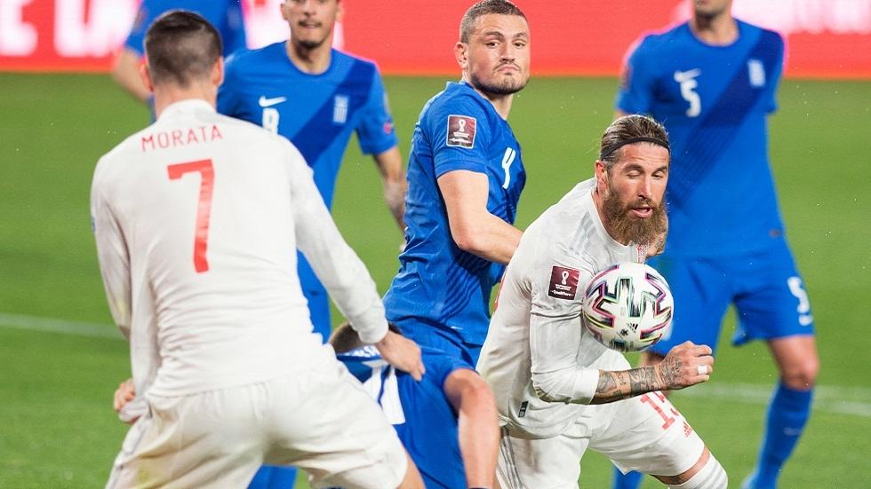 تصفيات مونديال قطر.. اليونان تفرض التعادل على إسبانيا (فيديو)