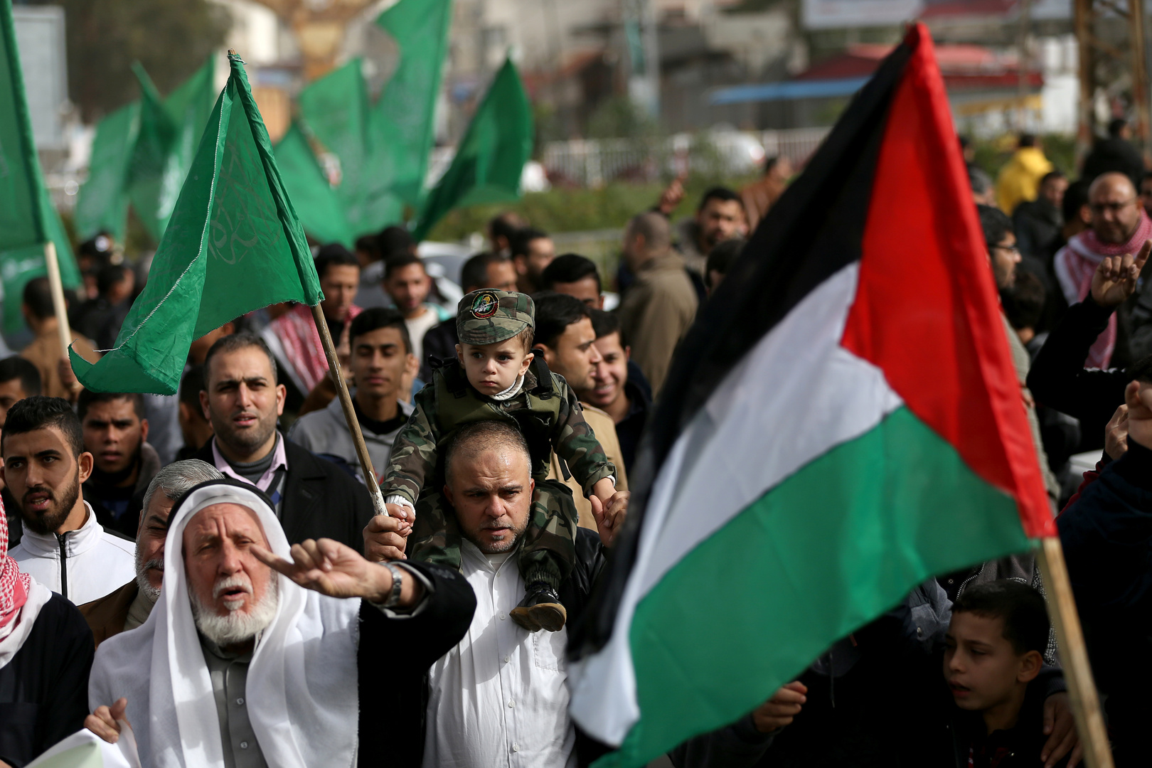 Palestinian Authority: US aid is a step in the right direction