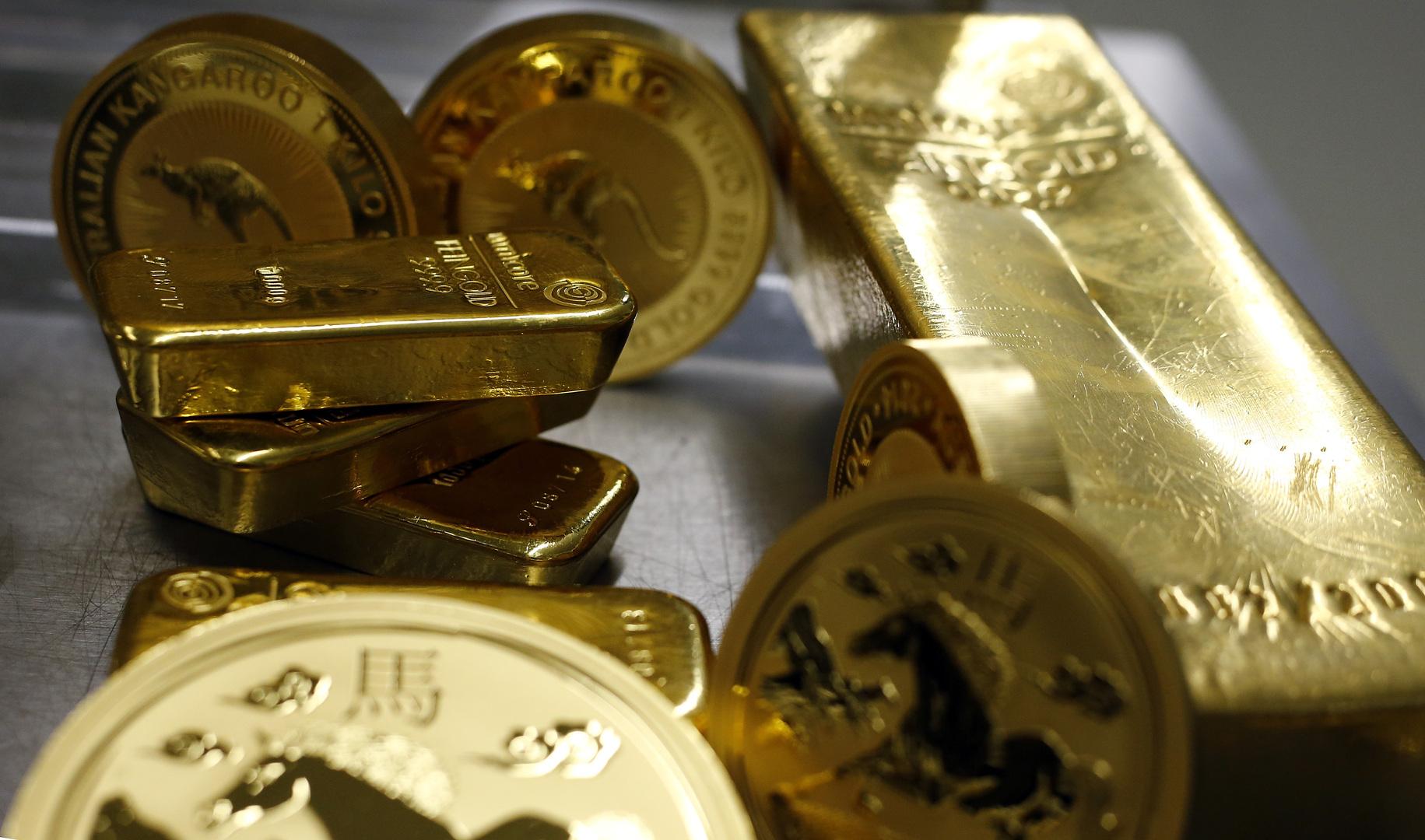 الذهب يواجه أول هبوط أسبوعي في 3 أسابيع