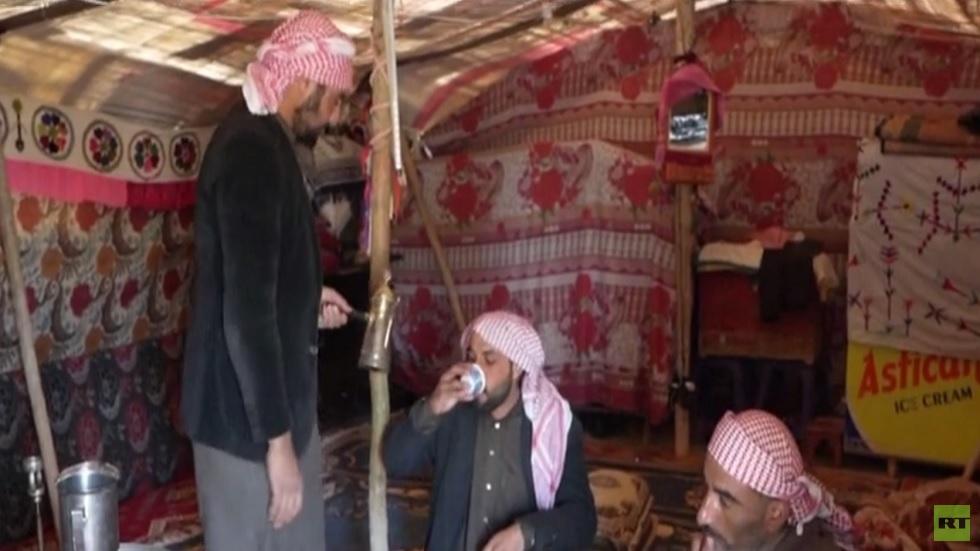 حياة البدو العرب في شمال سوريا
