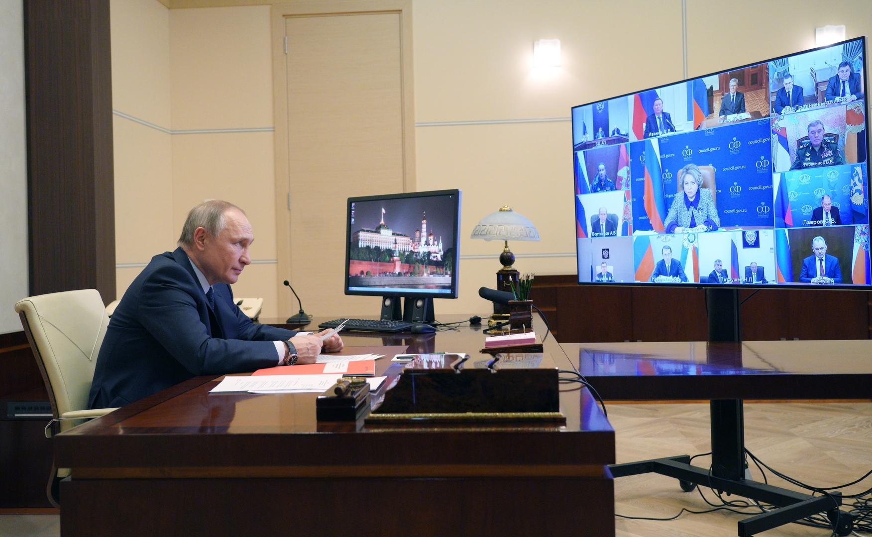 بوتين: الحلول التكنولوجية الجديدة تخلق مخاطر جديدة للعالم