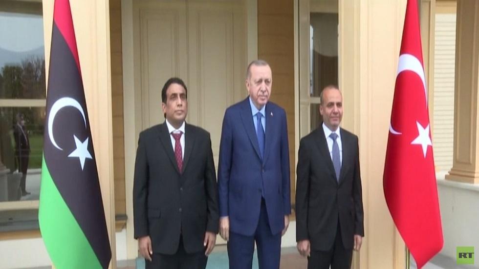 أردوغان يؤكد دعمه لوحدة وسيادة ليبيا