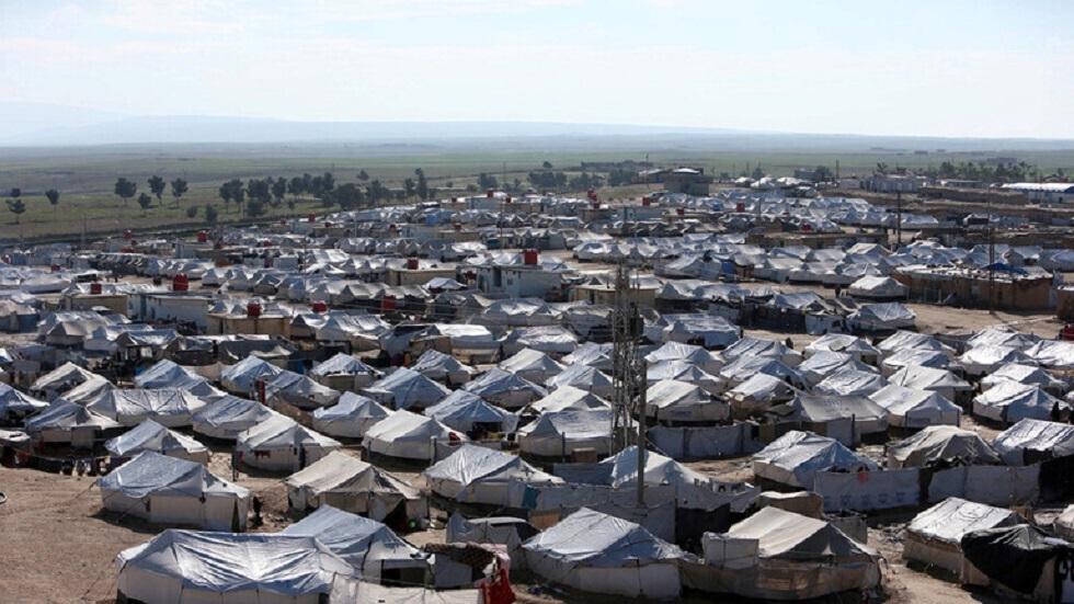 مخيم الهول في سوريا - أرشيف