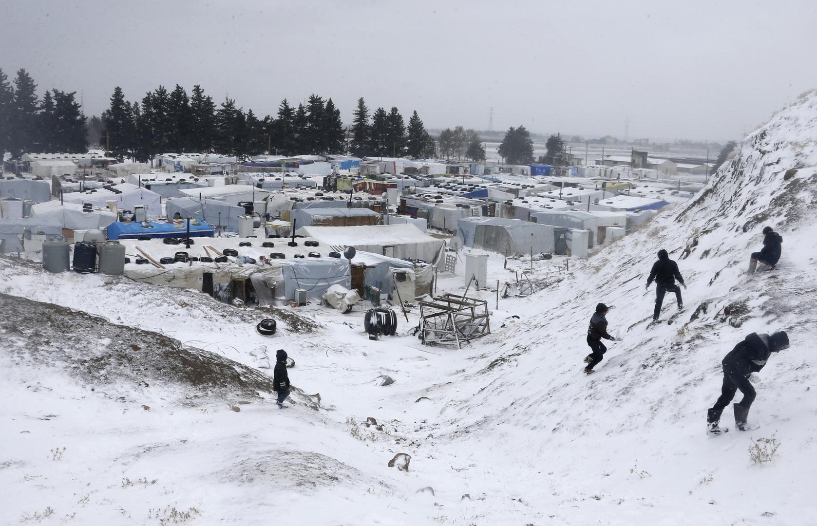 لبنان.. العثور على جثث 4 سوريين توفوا بسبب البرد