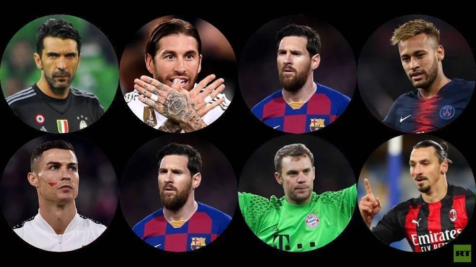 At afsløre de 10 bedste spillere og klubber i verden i det sidste årti