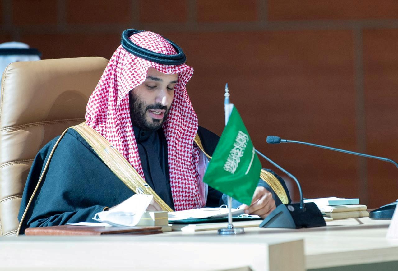 ولي العهد السعودي يناقش مع ملك البحرين مبادرتي السعودية للمناخ