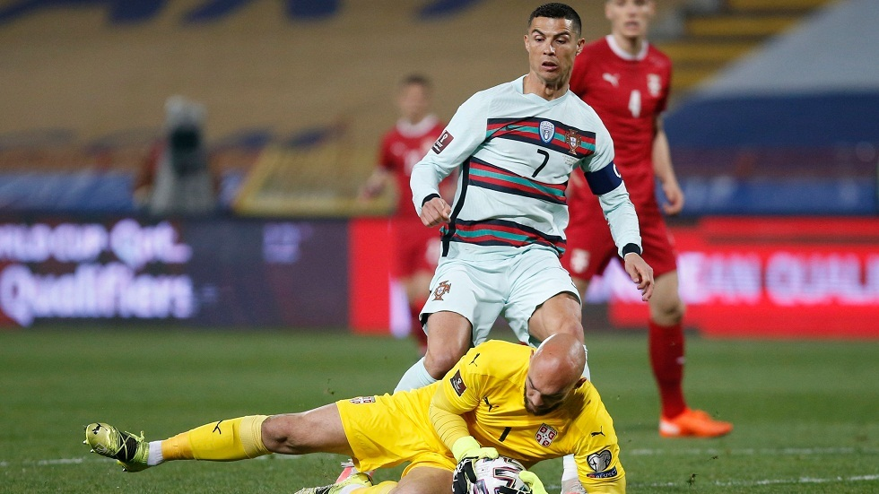 صربيا تفرض التعادل على البرتغال في تصفيات مونديال قطر (فيديو)