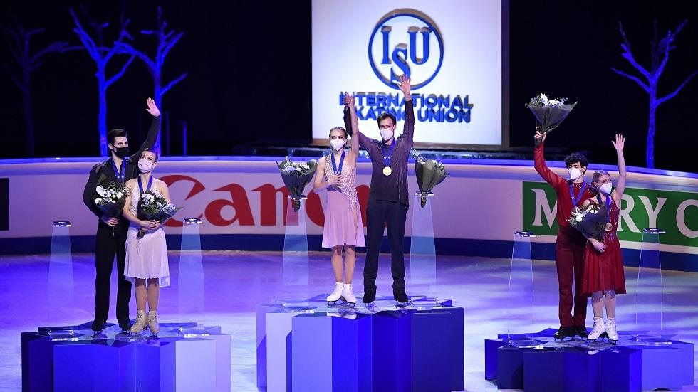 روسيا تتوج ببطولة العالم في الرقص الفني على الجليد (فيديو)