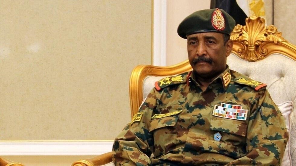 رئيس مجلس السيادة السوداني الفريق أول ركن عبد الفتاح البرهان