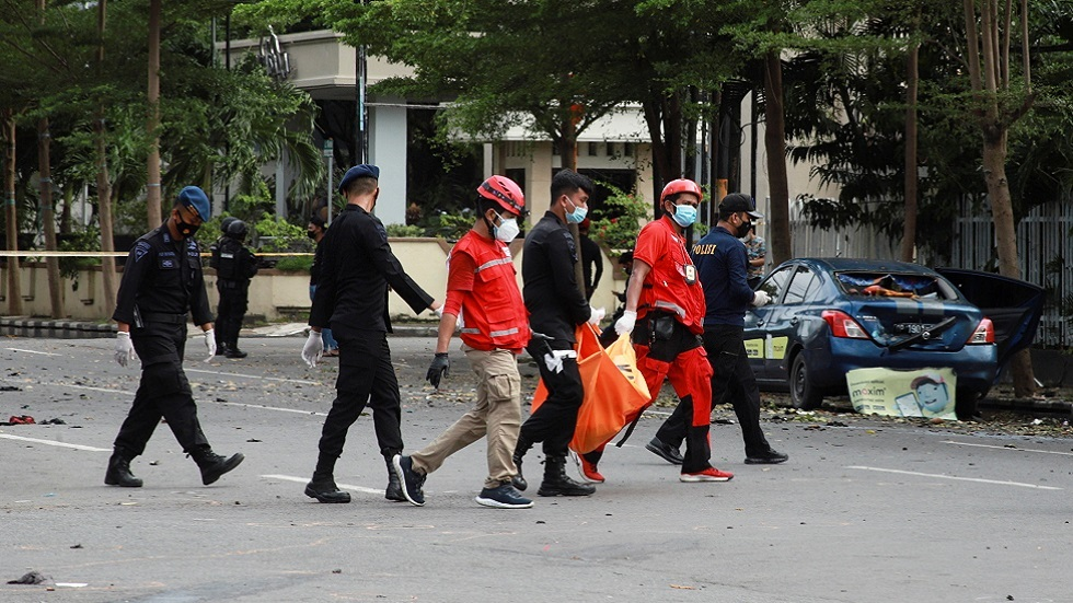 رئيس إندونيسيا يندد بالهجوم على كنيسة ويصفه بـ