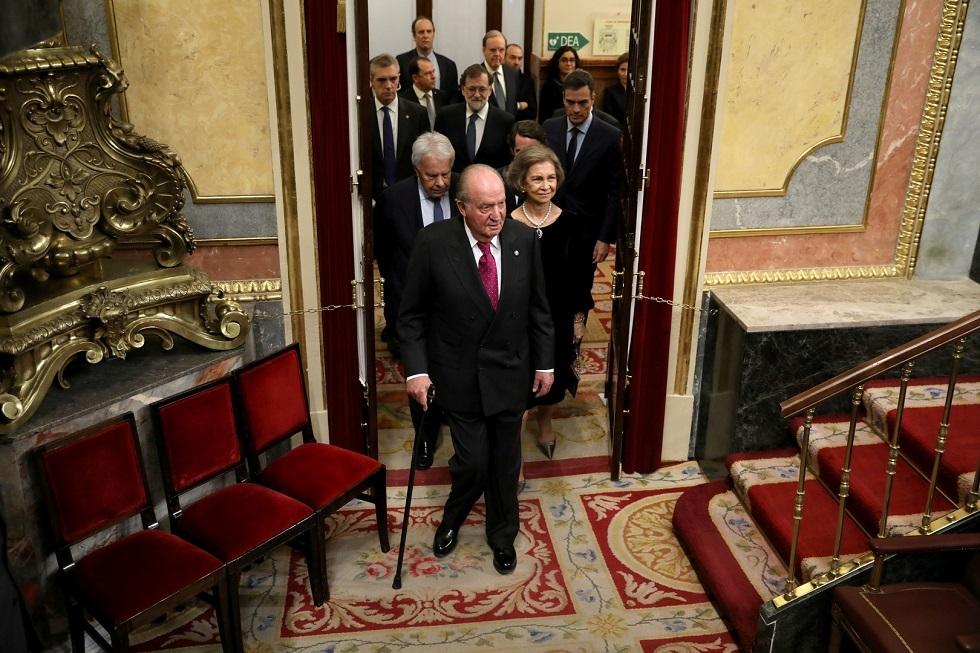 الملك الإسباني السابق خوان كارلوس