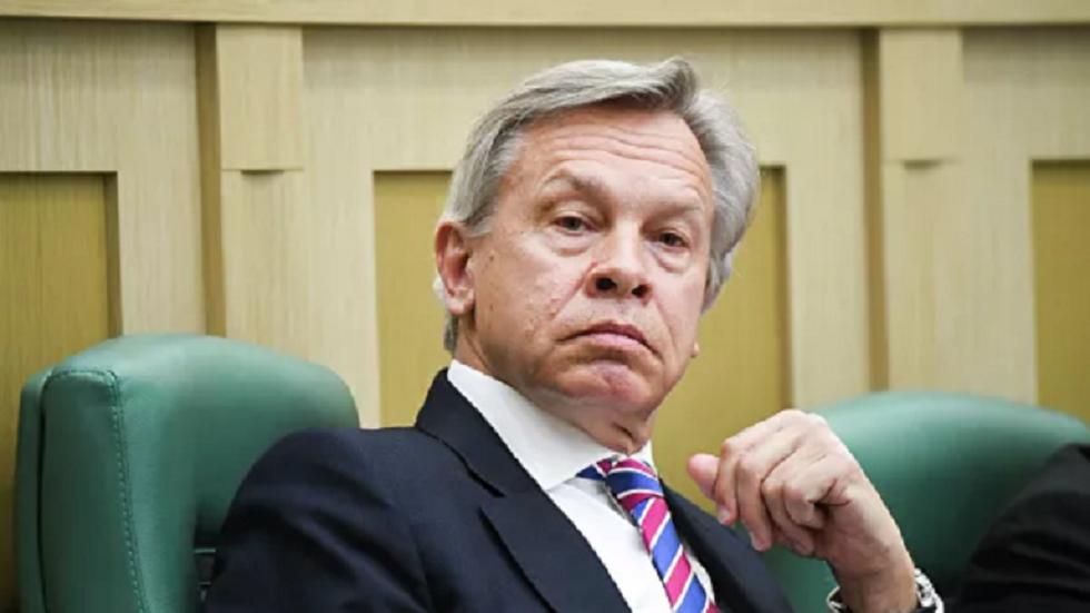 السناتور الروسي أليكسي بوشكوف