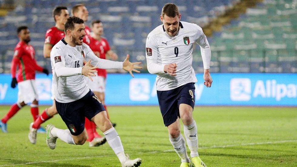 تصفيات مونديال قطر.. إيطاليا تتغلب على بلغاريا بهدفين نظيفين في عقر دارها (فيديو)