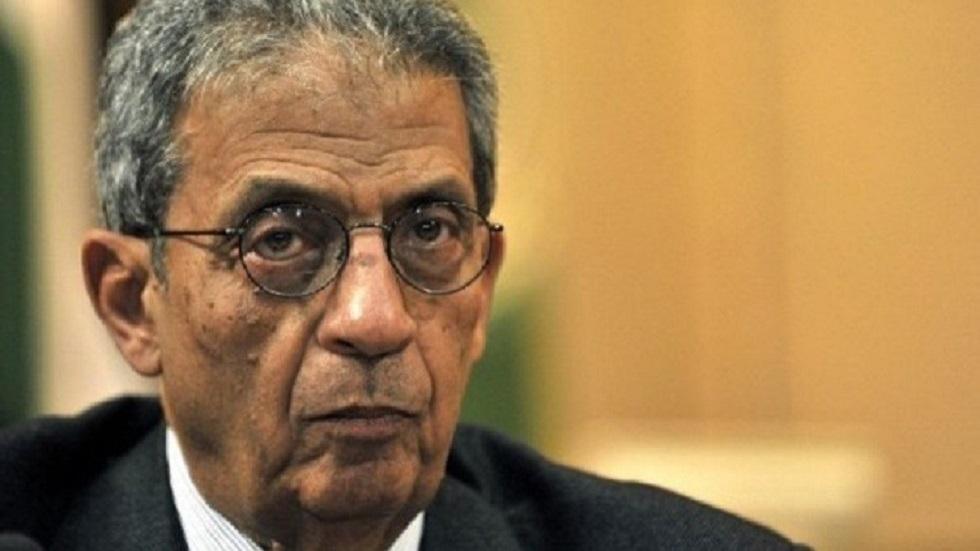 عمرو موسى الأمين العام السابق لجامعة الدول العربية