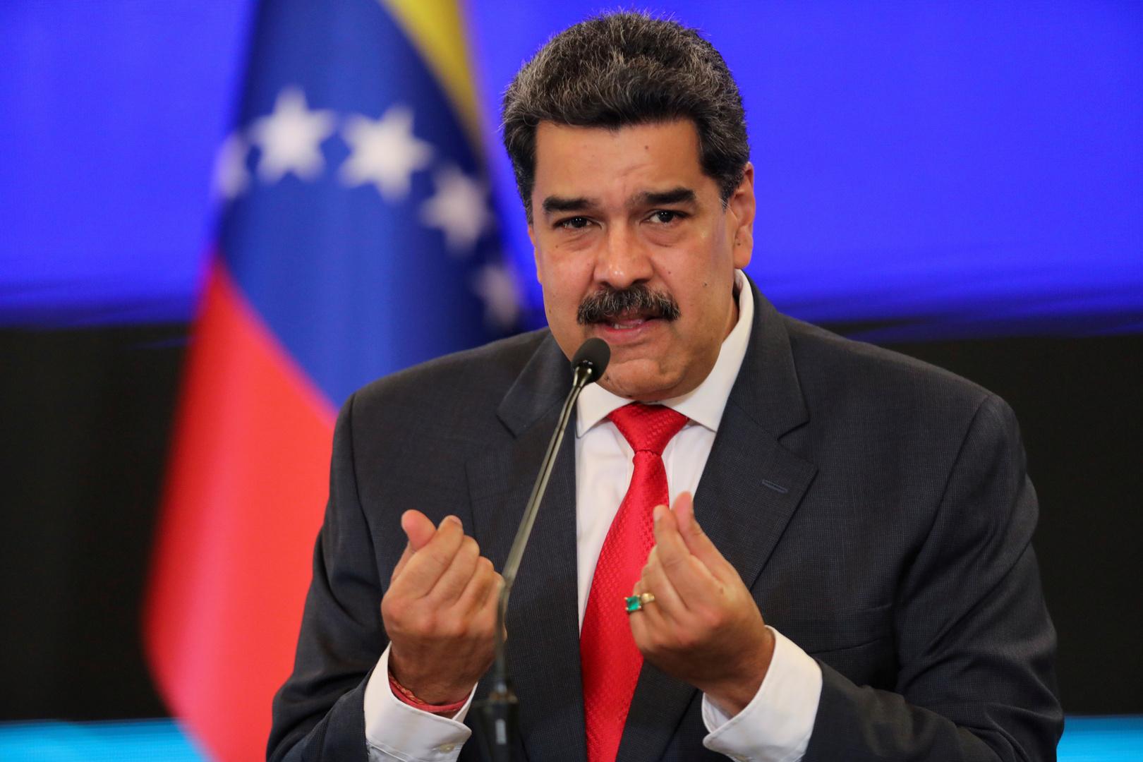 مادورو يقترح النفط مقابل لقاح كورونا لشعب فنزويلا (فيديو)