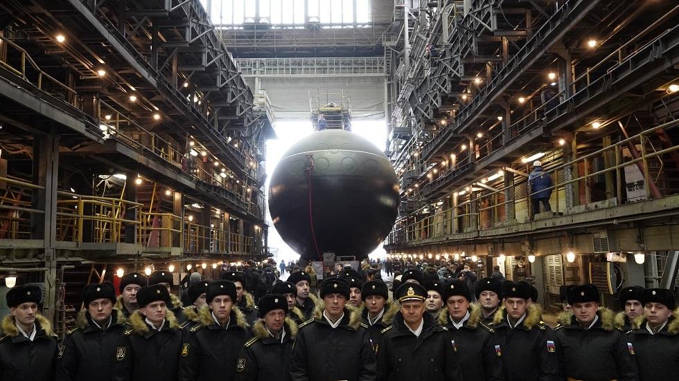 غواصة صاروخية حديثة تدعم قدرات أسطول المحيط الهادئ الروسي