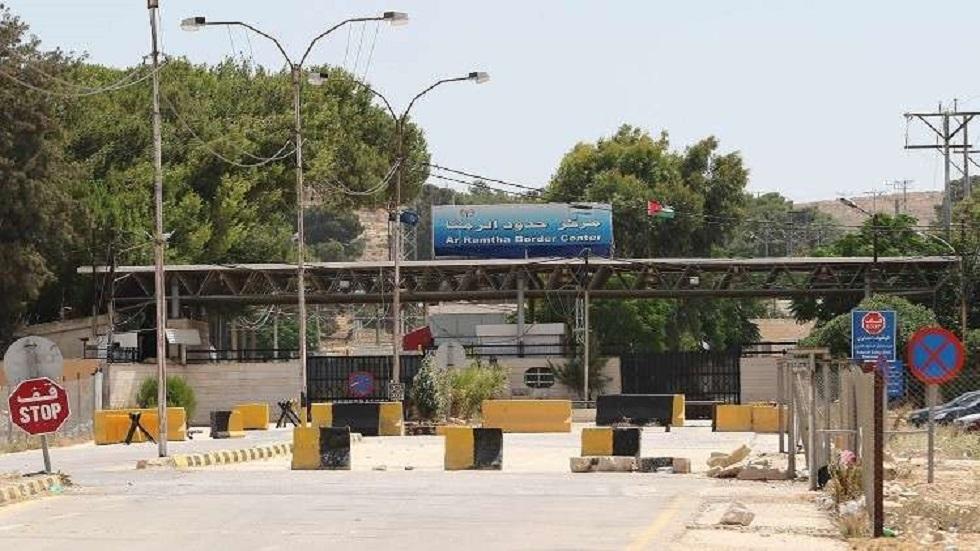 معبر الرمتا الحدودي بين الأردن وسوريا - أرشيف