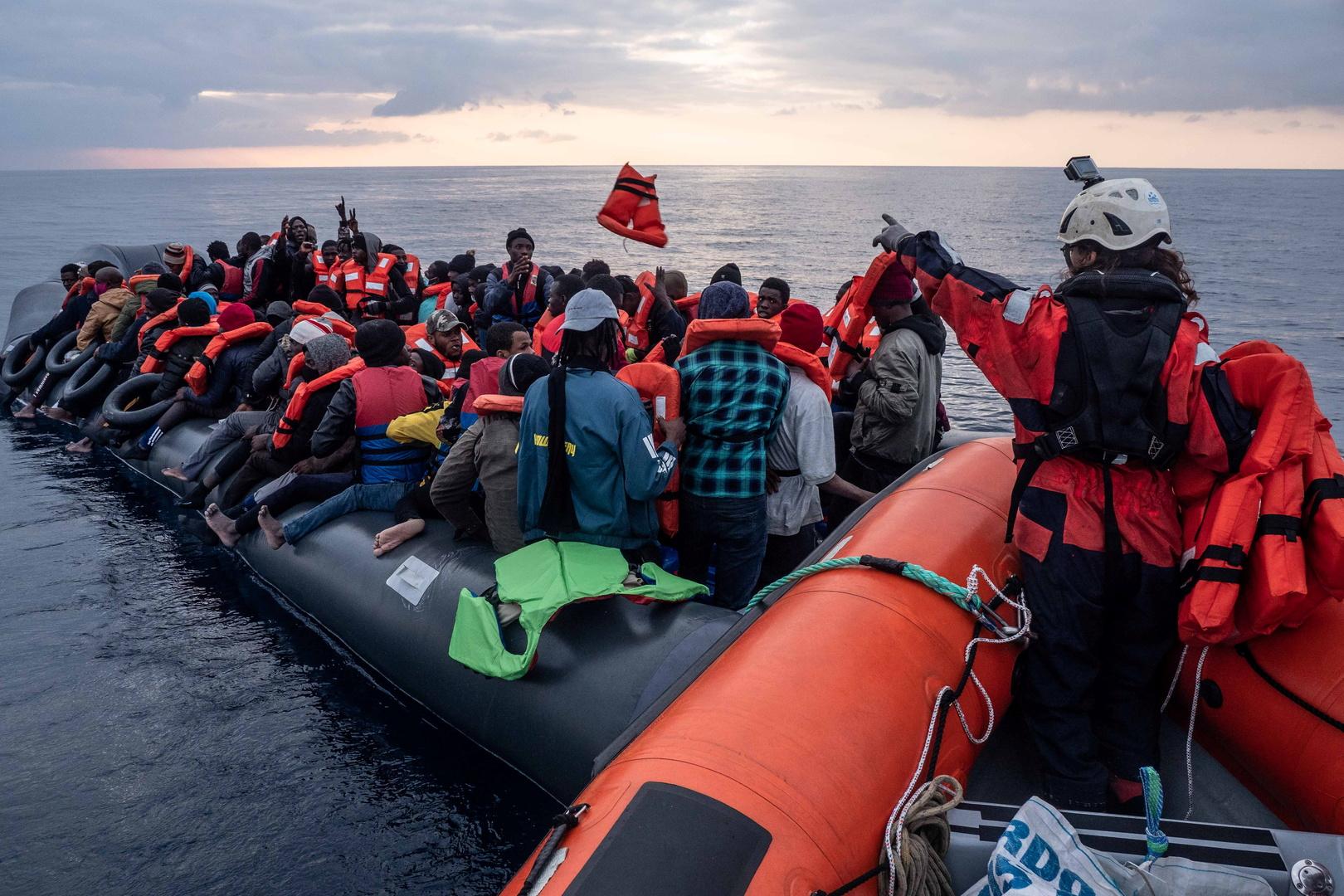 المهاجريون إلى أوروبا