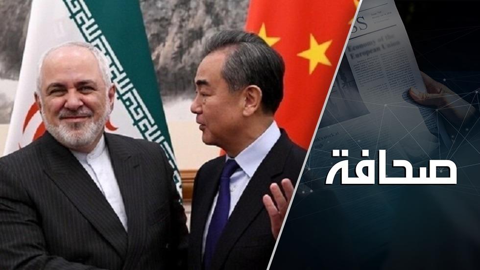 أمريكا طارت: إيران والصين