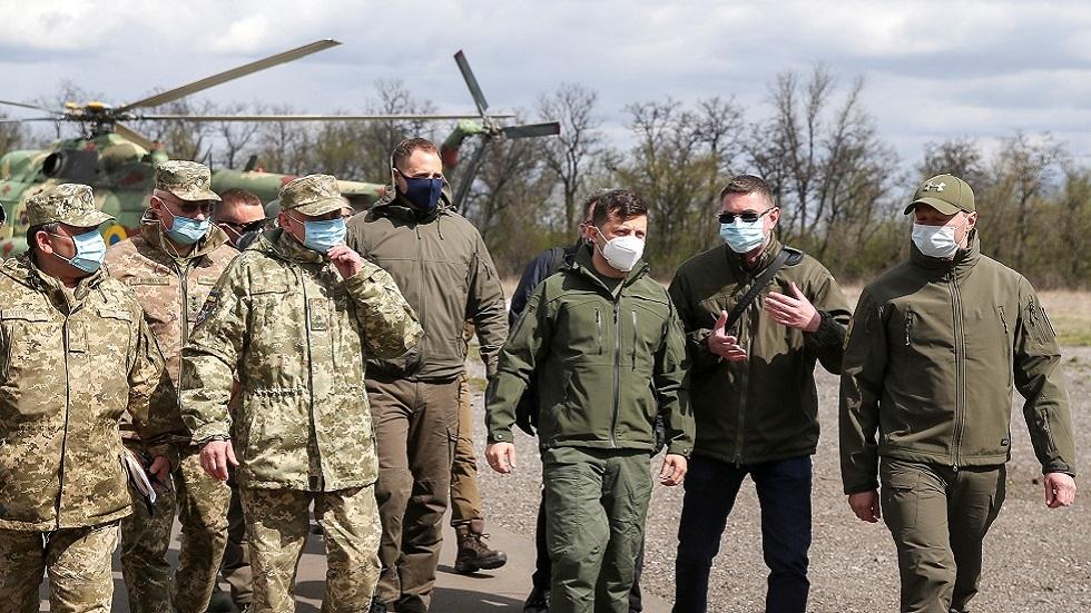 بيسكوف: أوكرانيا في عهد زيلينسكي لم تتقدم قيد أنملة في تنفيذ الاتفاقات الخاصة بدونباس