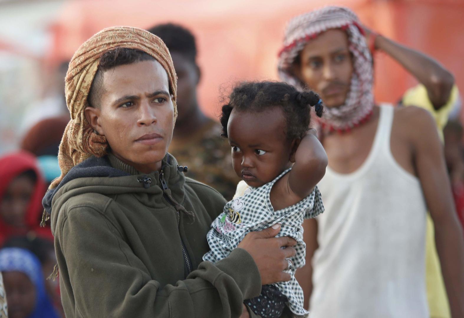 لاجئون يمنيون، أرشيف