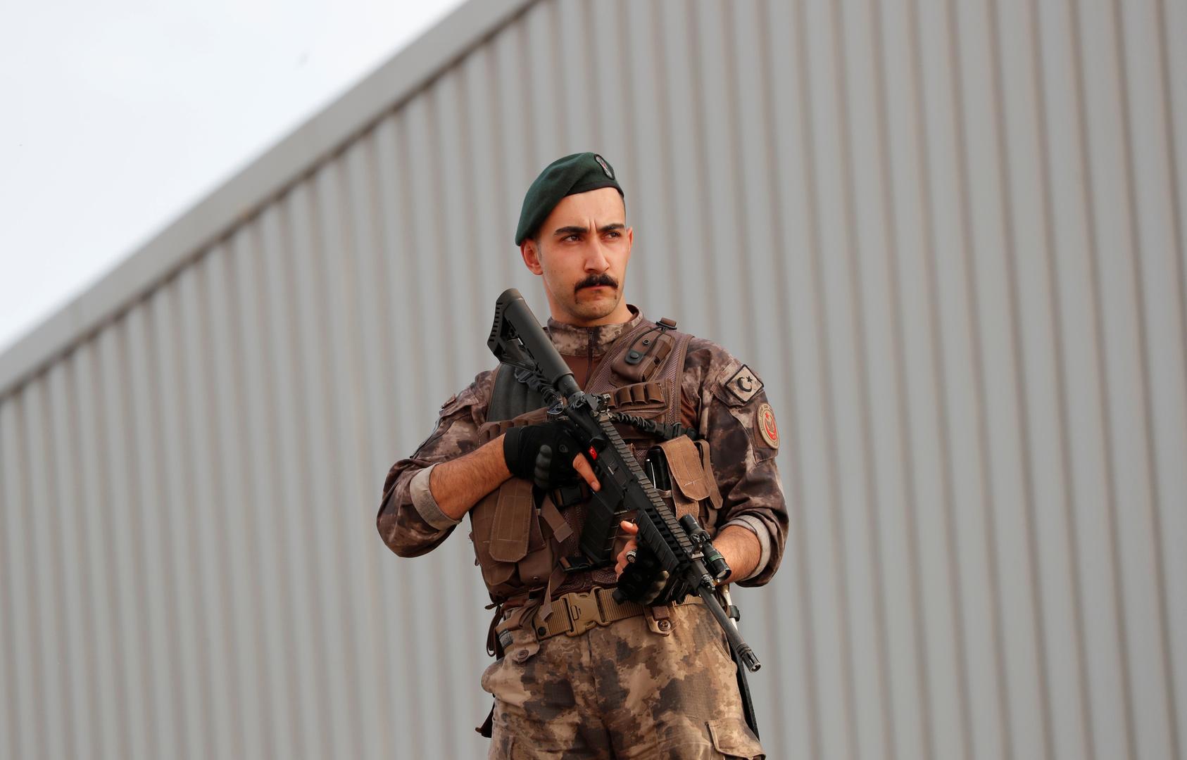 عنصر من القوات الخاصة التركية