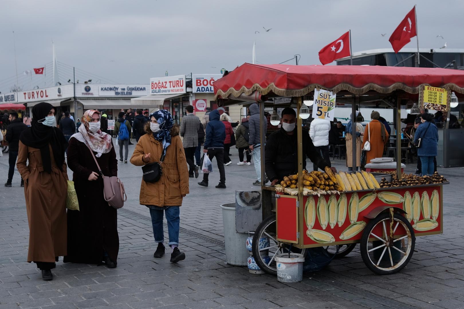 تركيا تسجل أعلى حصيلة إصابات يومية بكورونا منذ اندلاع الجائحة