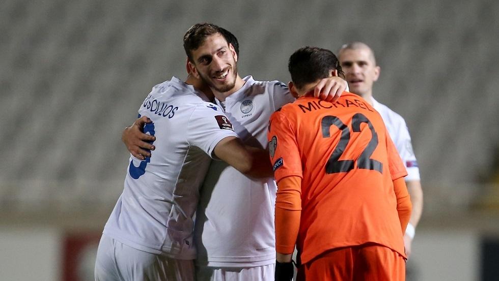 قبرص تفاجئ سلوفينيا في تصفيات مونديال قطر 2022